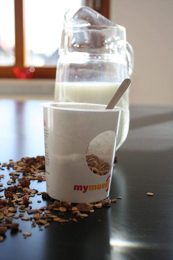 mymuesli-to-go Frühstück