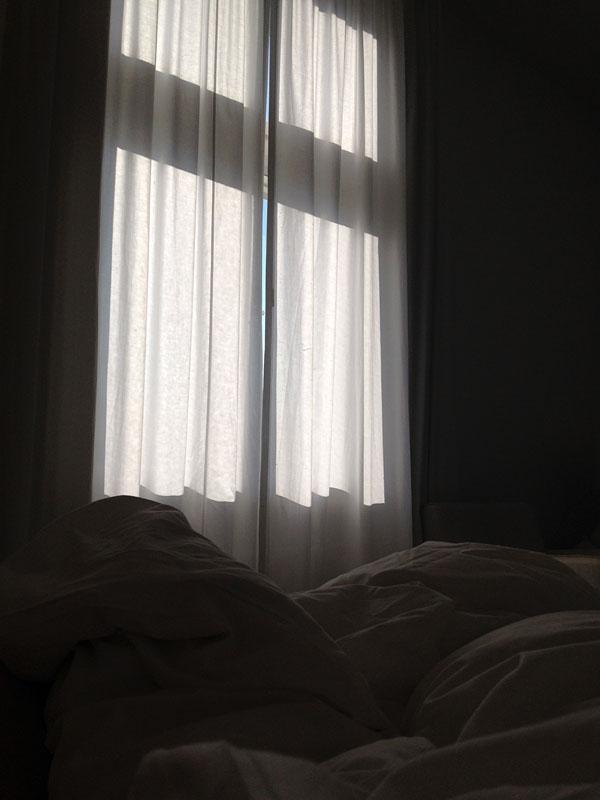 Aus dem Bett im Hotel Haus Norderney 12 von 12
