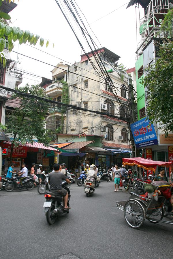 Altstadt in Hanoi, Vietnam