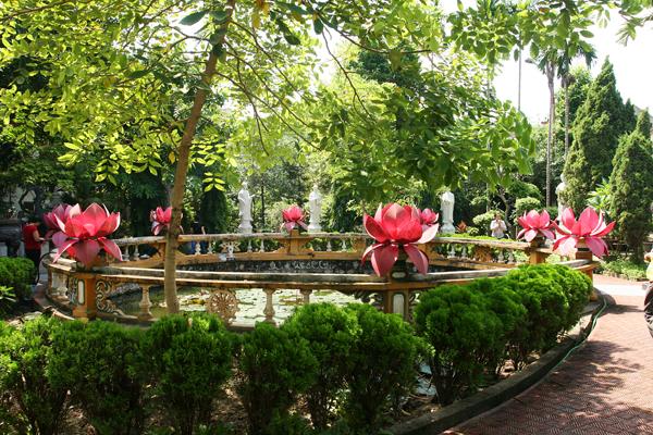 Garten der 10 Schüler Buddhas