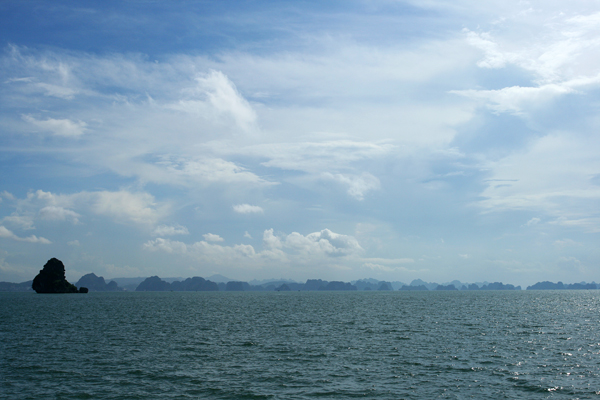 Unterwegs in der Ha-Long-Bay