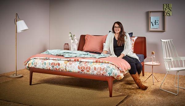 Komfortzone beim Schlafzimmer Styling bei Auping verlassen
