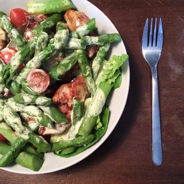 Rezept Spargel Ceasar Salad