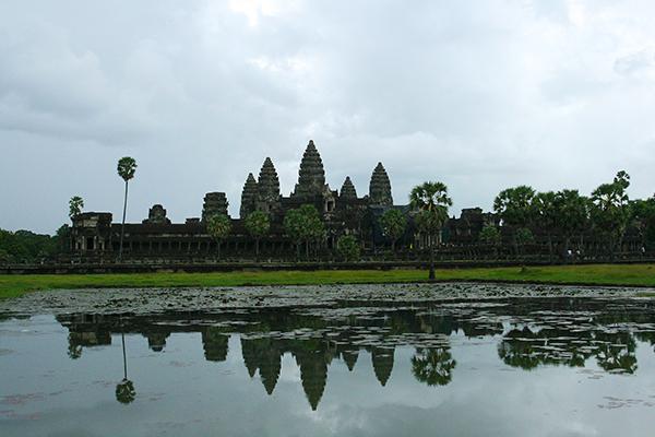 Angkor Watt in Kambodscha
