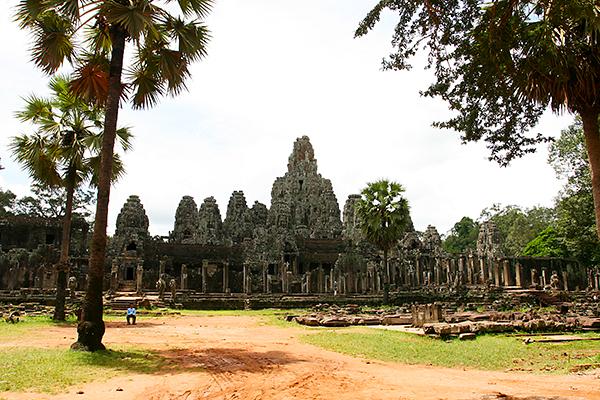 Tempelanlangen in Kambodscha