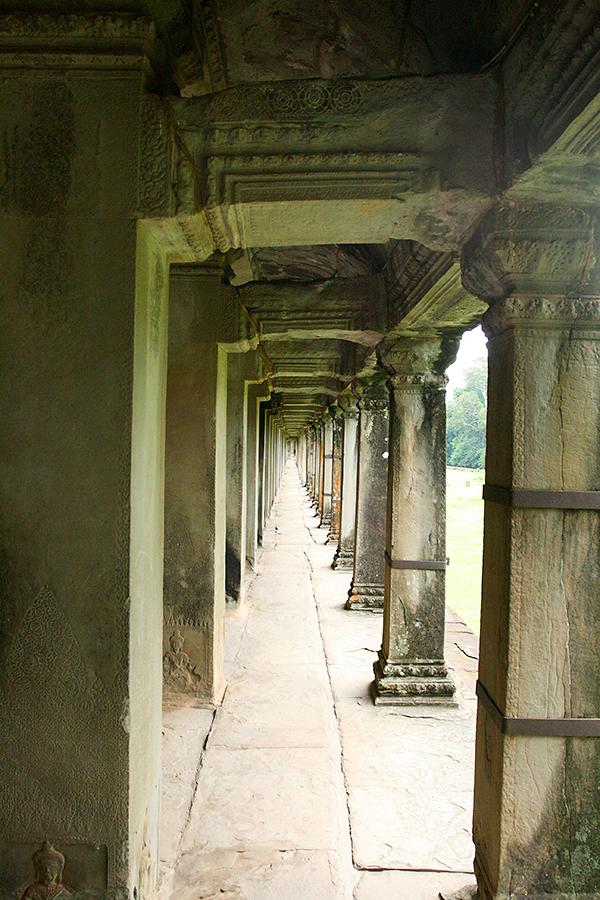 Rundgang durch die Tempel von Kambodscha