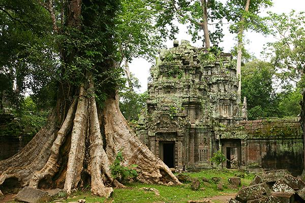 Ein Tag bei den Tempeln von Kambodscha