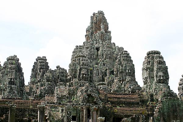 Riesige Tempelanlagen in Kambodscha