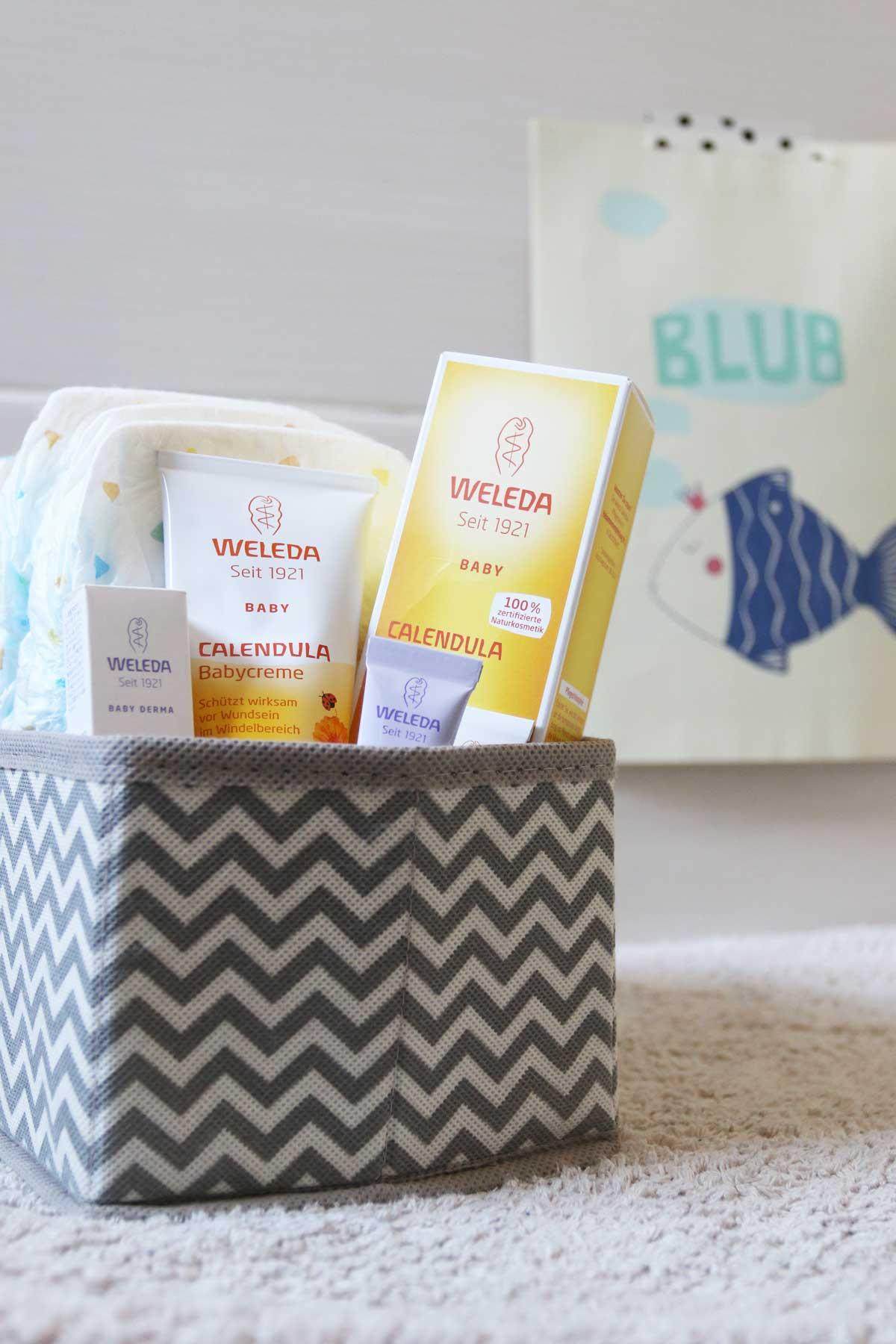 Babyerstausstattung Babypflege Weleda